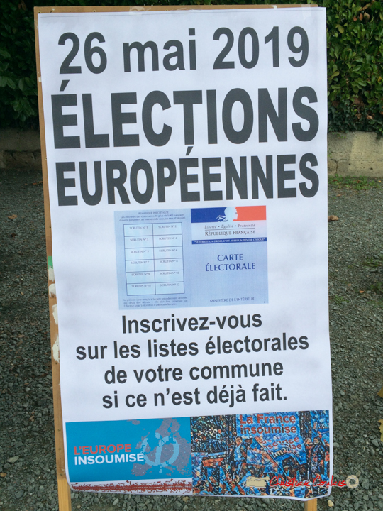 Inscrivez-vous sur les listes électorales, jusqu'au 31 décembre, si ce n'est déjà fait.